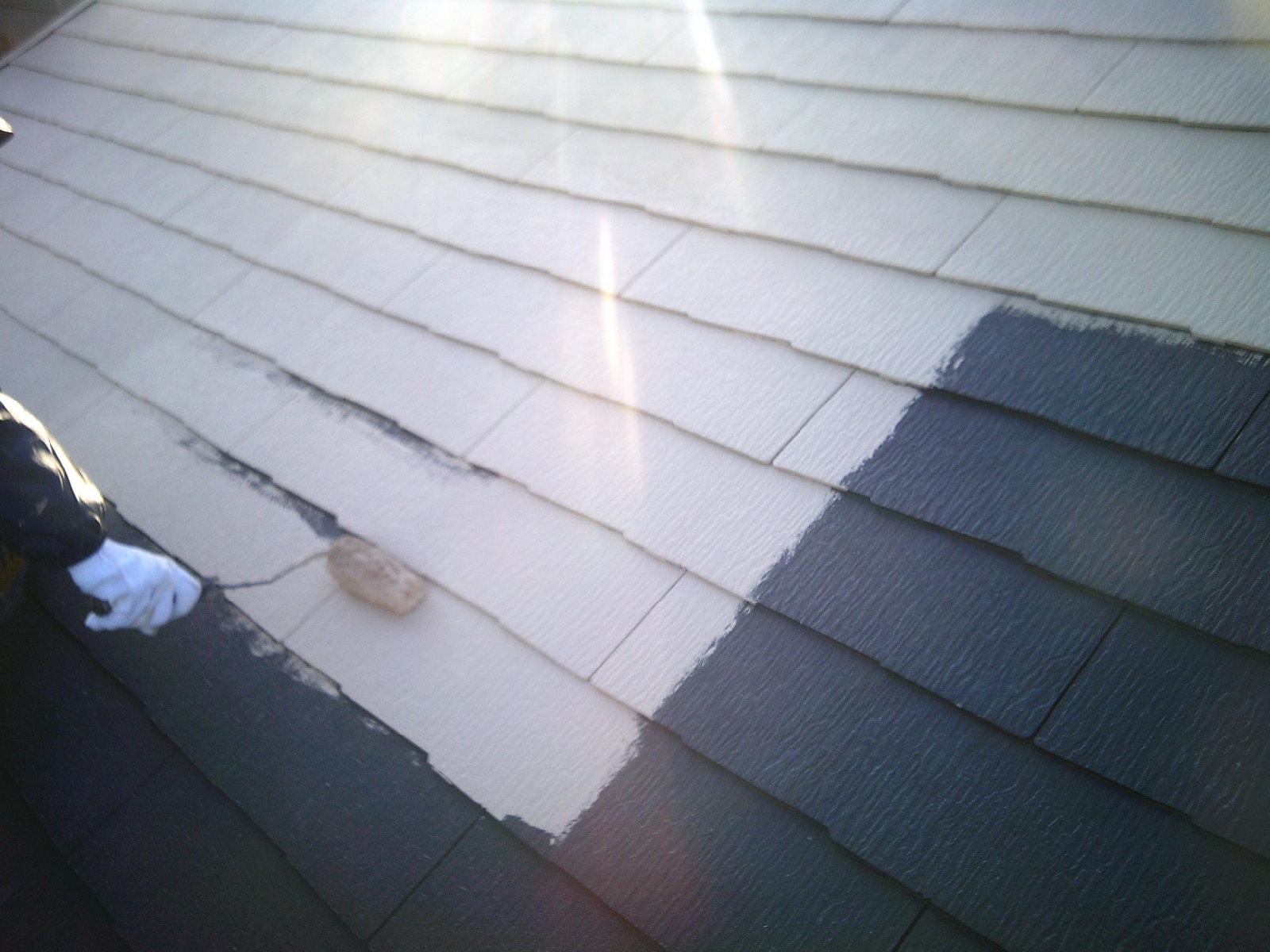 超低汚染無機フッ素塗料!屋根は遮断熱GAINAで快適空間!